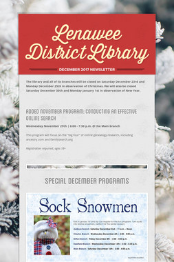 Lenawee District Library