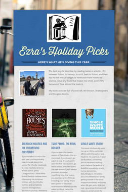 Ezra's Holiday Picks