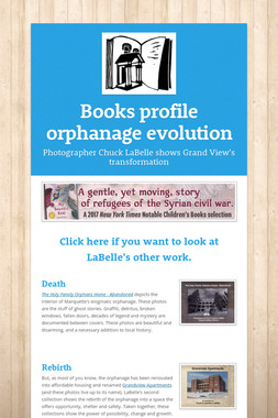 Books profile orphanage evolution