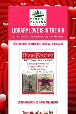 Library Love is in the Air