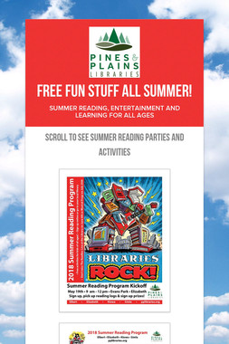 Free Fun Stuff All Summer!