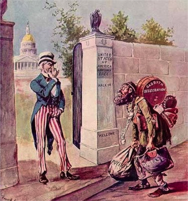 american nativist Nativism is a concept that has been very controversial in american political discourse through its nineteenth-century, anti-immigration, anglo-protestant views that vouch for a more pure.