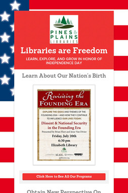 Libraries are Freedom