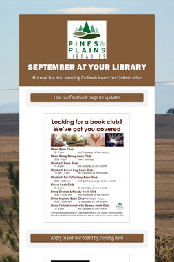 September at Your Library