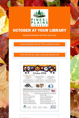 October at Your Library