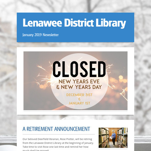 Lenawee District Library | Ingram Sendr