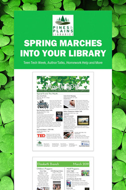 Spring Marches Into Your Library
