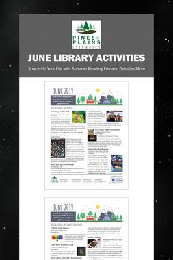June Library Activities