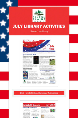 July Library Activities