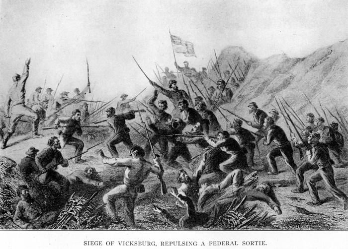 civil war battle at vicksburg essay