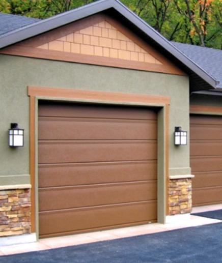 Types of garage doors smore newsletters for business for Garage door materials