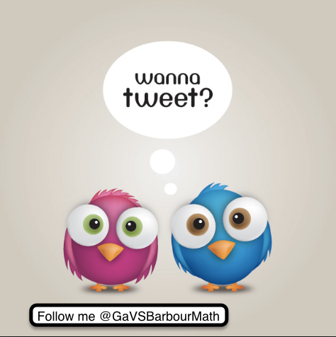 Follow Your Teacher on Twitter for Updates, Shout Outs and More!