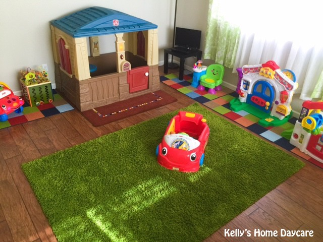 In home daycare set up pictures.