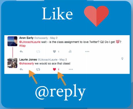 """""""Like"""" a Tweet"""