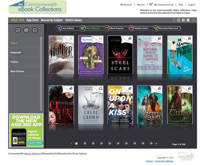 Free E-book and Audiobooks for SHS Students!