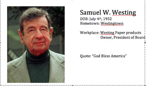 Sam W. Westing