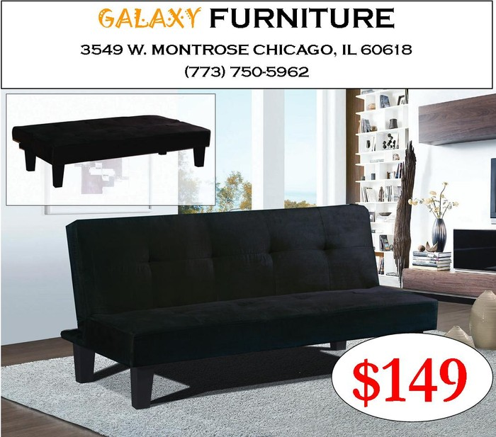 OR VISIT OUR STORE AT Galaxy Furniture 3549 W. Montrose Ave., Chicago, IL  60618