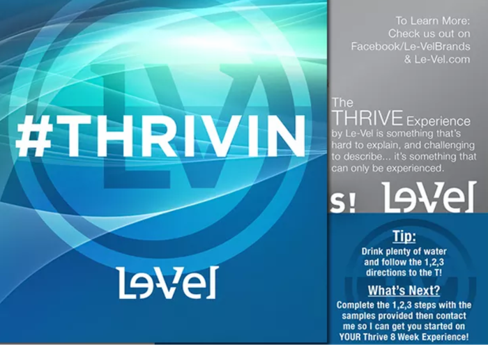 What is Thrive and the 8 week experience?