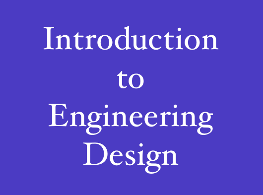 pltw intro to engineering final study