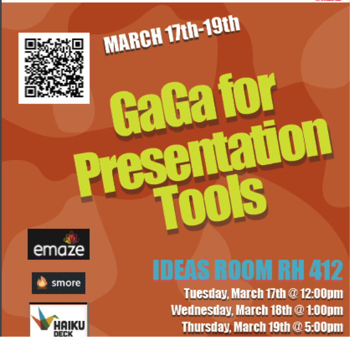 Along with spring comes class presentations and projects.