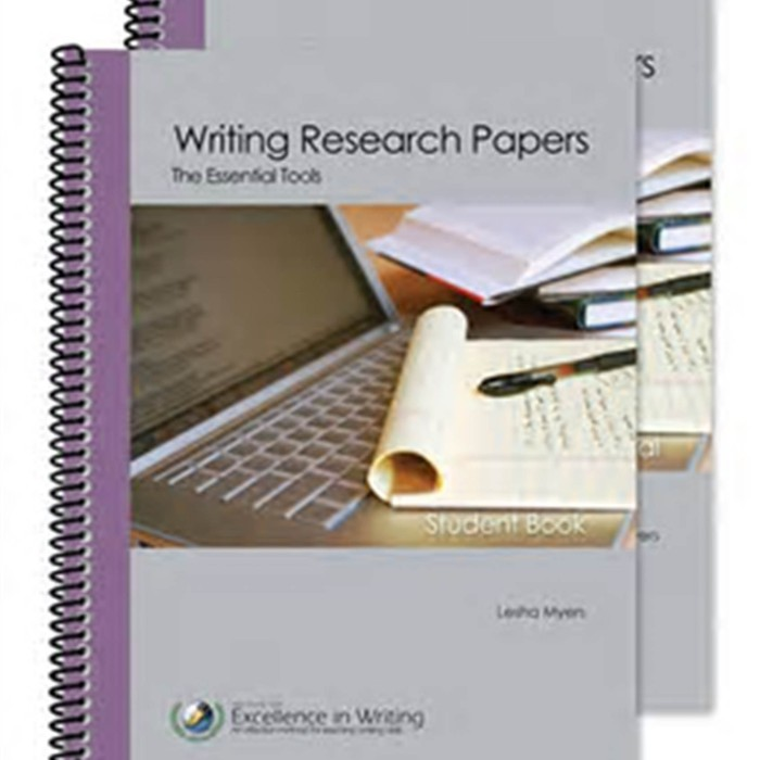 writing the research paper book