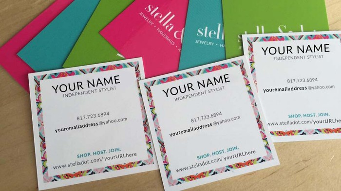 New designs for your sd biz smore newsletters moo square business cards reheart Gallery