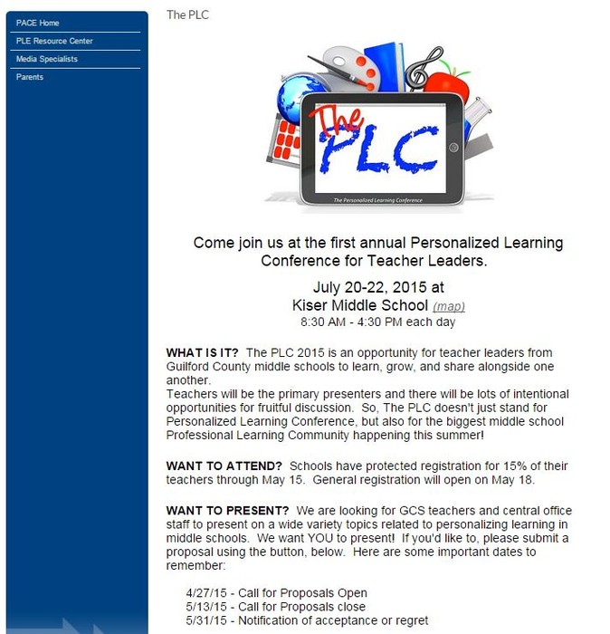 The PLC | Smore Newsletters for Education