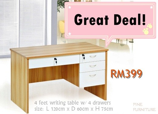 OFFICE FURNITURE Smore Newsletters - 4 feet office table