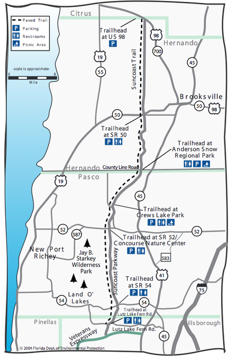 Spring Hill Florida Map.Spring Hill Marathon Mania Smore Newsletters For Business