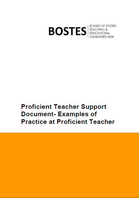 aitsl professional standards proficient pdf