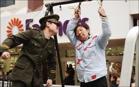 Chinese citizens have been threatened and put in jail because they were speaking their mind.