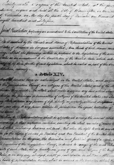 13th 14th and 15th amendments Print pdf natural rights and the post-civil war amendments michael zuckert, university of notre dame the three amendments added to the constitution after the civil war the 13th, 14th, and 15th but especially the 14th have been the most important additions to the constitution since the.