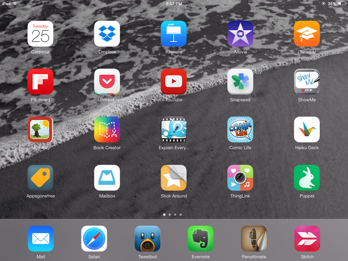 how to get apps on home screen