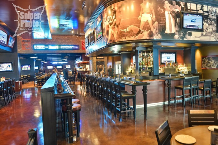 Don't forget to grab a drink at our bar while you're here!