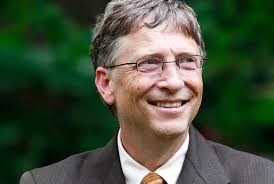 Bill Gates trys lots of new things