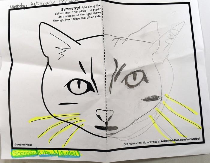Ms  Janjua's Grades 3-4 Art Class