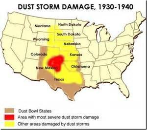 massive dust storms in Oklaoma TX