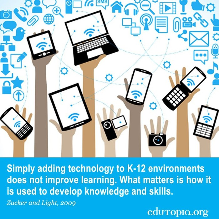 mobile technology in education thesis Factors impacting teachers' adoption of mobile learning kathryn mac callum eastern institute of technology  mobile technology with in educational setting.