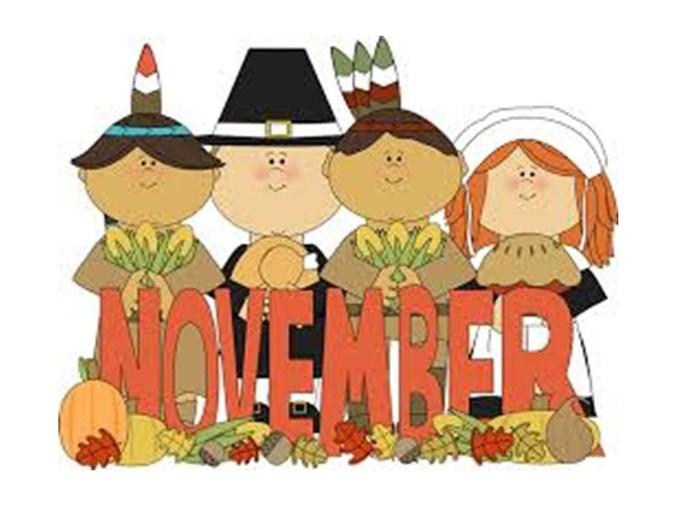 November Calendar Art For Kids : November happenings clip art cliparts