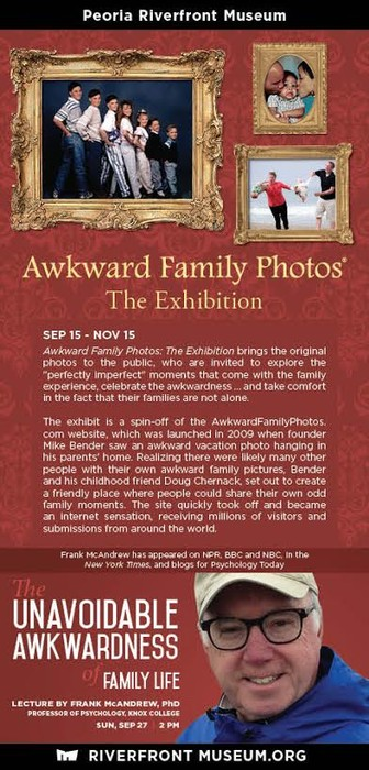 Frank McAndrew Lecture + Awkward Family Photos: The Exhibition