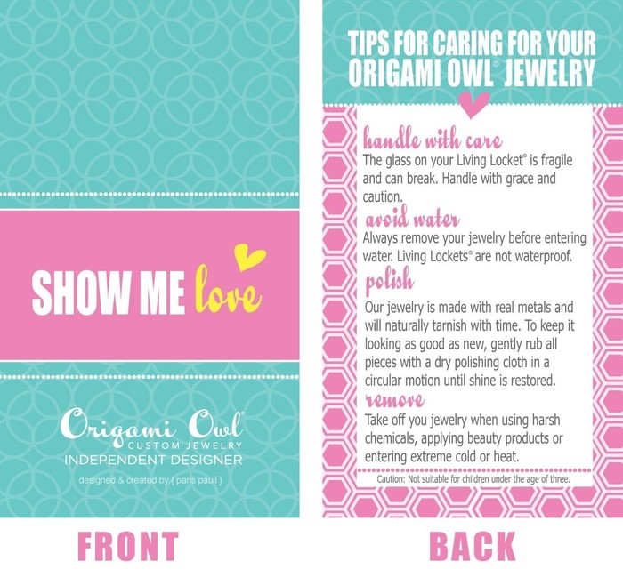 Origami Owl Living Lockets Smore