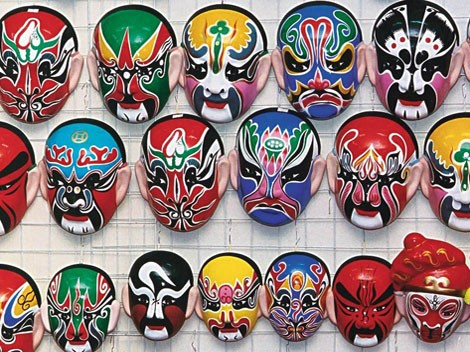 What Are The Materials Used In Beijing Opera Face Paint