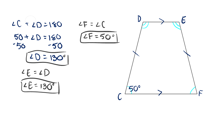 Example of Trapezoid With Work