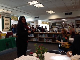 Congrats to Hill MS for hosting a Breakfast in the Classroom Reception