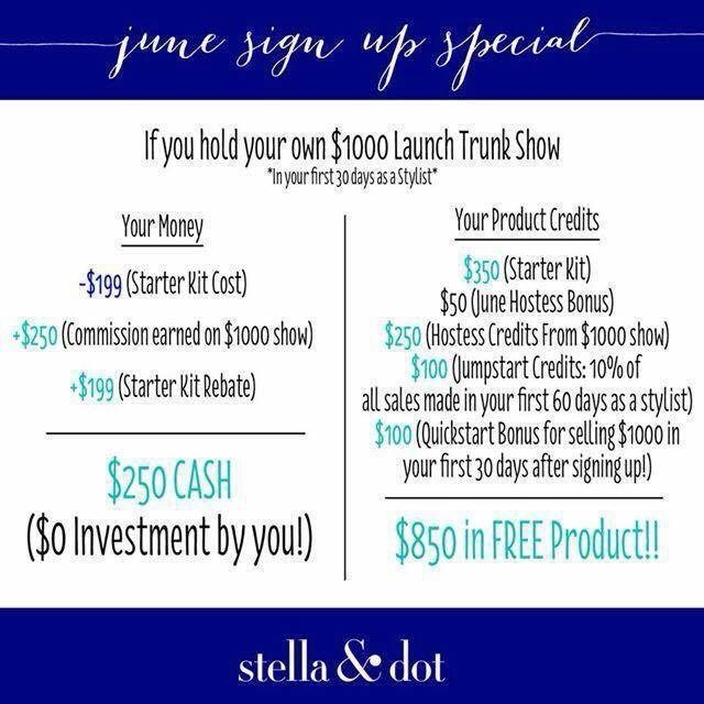 Interested in being a Stella & Dot Stylist?!?