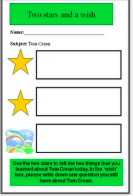 Gayle\'s teaching resources and ideas - Student Self-Assessment