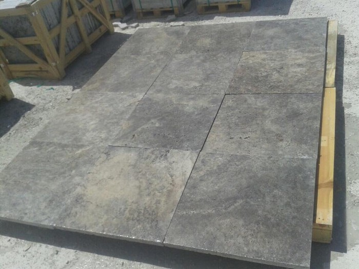 Silver Travertine Tumbled Pavers | Smore Newsletters for