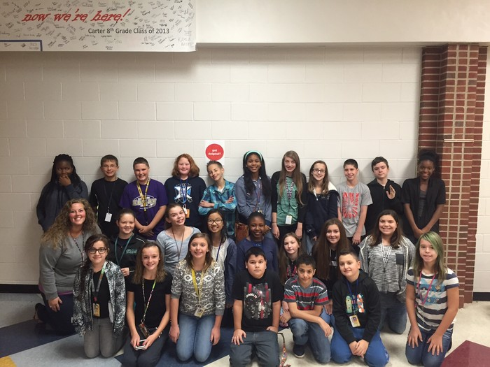 Carter Middle School | Smore Newsletters for Education