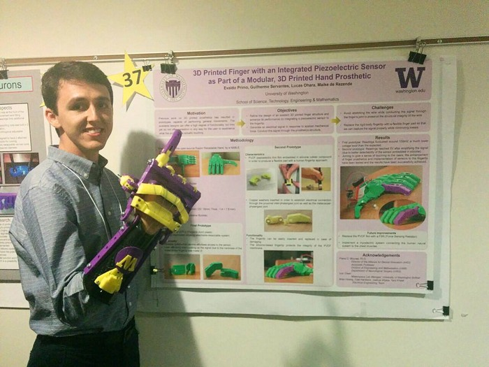 Brazilian Students Shine at The Annual Undergraduate Research Symposium