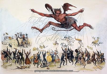 Andrew Jackson Political Cartoon